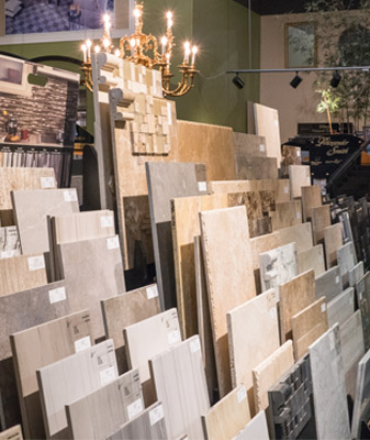 Oceanside Abbey Carpet's showroom has huge selection of many types of flooring.  Stop by today!